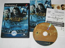 Lord of the Rings Two Towers Playstation 2 PS2 Japan import US Seller