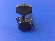 A set of (3L + 3R) Guitar Black Tuning Pegs Machine Heads