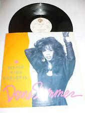 "DONNA SUMMER - Dinner With Gershwin - Rare 1987 UK WEA 3-track 12"" vinyl single"