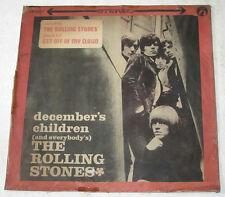 Chinese THE ROLLING STONES December Children ORANGE VINYL LP Record