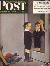 1950 Saturday Evening Post February 25 - Ice Capades