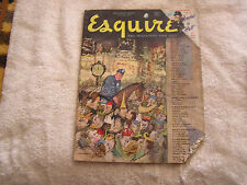 Esquire Magazine Holiday Issue January 1948