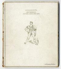 Petöfi & Marffy : Der Fährmann. Signierte Lithos. Amicus Druck. Num. Ex., 1920