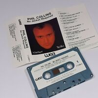 PHIL COLLINS NO JACKET REQUIRED 1985 CASSETTE TAPE ALBUM 80s POP IMPORT