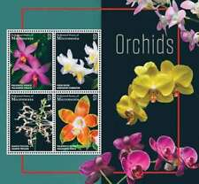 Micronesia - Orchids Stamp - Sheet of 4 MNH