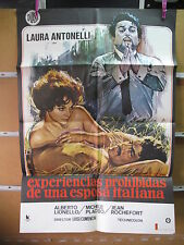 A4032 EXPERIENCIAS PROHIBIDAS DE UNA ESPOSA ITALIANA Laura Antonelli