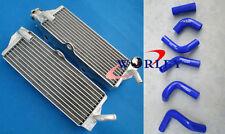 FOR HUSQVARNA TC250 TE 250 TE450 TC450/510 2003-2009 Aluminum Radiator + Hose