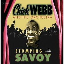 Stomping At The Savoy - Chick & His Orchestra Webb (2013, CD NIEUW)4 DISC SET