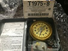 Intermatic T-1975 Program Time Switch With Skipper 48 Operations 125V 60H T1975
