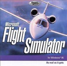 Microsoft Flight Simulator for Windows 95 SmartSaver Series (PC, 2000)