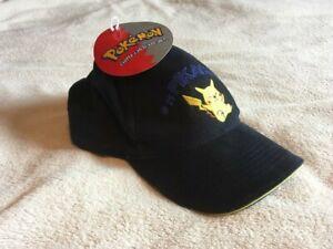 Vintage Pokemon Pikachu Cap Baseball Cap with Tags!
