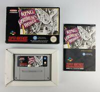 KING ARTHUR'S WORLD - Super Nintendo/SNES(PAL) - VGC & Complete