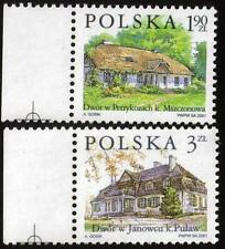 POLAND MNH 2001 Polish Farmhouses