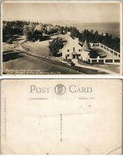 Manoir Richelieu Murray Bay Hotel Quebec Canada Antique Rppc Real Photo Postcard