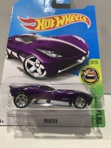 Hotwheels Super Treasure Hunt! Velocita INT CARD SEALED UNOPENED HTF