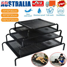 Elevated Pet Bed Trampoline Dog Puppy Cat Heavy Duty Hammock Canvas In/Outdoor