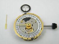 ETA 251.474 Swiss Quartz Watch Movement - MZETA251.474 Date @ 4 Gold Plated