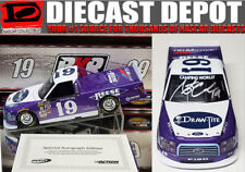 AUTOGRAPHED AUSTIN CINDRIC 2017 THROWBACK DRAW-TITE TRUCK 1/24 ACTION