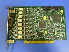 National Instruments NI PCI-6143 DAQ Card, 8 Channel 16bit Simultaneous Sampling