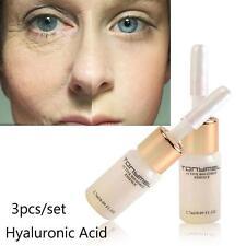 3Pcs Moisturizer Hyaluronic Serum Anti Aging Wrinkle Liquid Cream Repair set