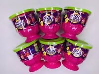 6x Cutie Fruities Minis 3 Mystery Plush Pineapple Chunks Apple Grapes