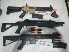 Airsoft gun lot. Valken M4 Tippman tactical M4 Double eagle Shotgun Hi Capa