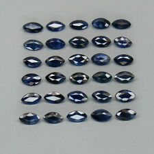 4.73 Carats 30pcs Lot 4.5x2.5mm Natural Blue SAPPHIRE Marquise Jewelry Setting