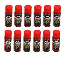 12 X Air Duster Spray Compressed Can 400ml Clean & Protect Laptop Keyboards