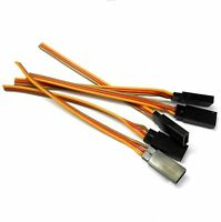 5 x Compatible JR Connector Wire Battery Lead 10cm 100mm 1.5mm Female