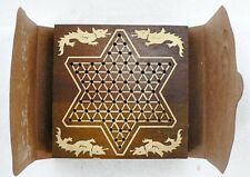 VINTAGE SPARTAN CO. CHINA CHEK CHINESE CHECKERS TRAVEL GAME IN ORIGINAL BOX