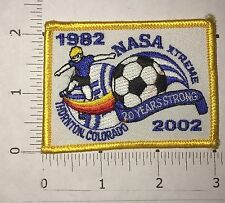NASA XTREME Patch - Soccer - Hornton, Colorado - Vintage 2002