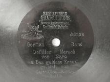 """78rpm E. BERLINER GRAMOPHONE 7"""" - DEFILIERMARSCH - GARDE KÜRASSIER REGIMENT"""