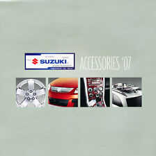 2007 Suzuki XL7 Aerio Reno Vitara Accessories Original Car Brochure Catalog
