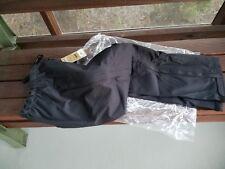 NWT Blackhawk Warrior Wear Rain/Shell Pants Black SMALL WINDPROOF BREATHABLE