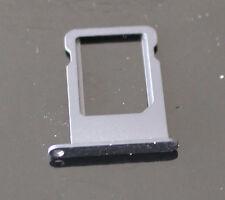 iPhone 5 Nano Sim Halter Tray Schlitten Karten Slot Adapter Metall - Schwarz