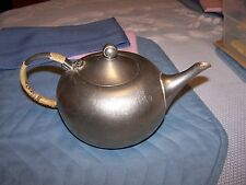 Royal Holland Pewter Tea Pot with Wrapped Handle
