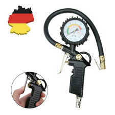 Reifendruckmessgerät geeicht Luftdruckprüfer Reifenfüller Manometer Auto Zubehör