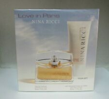 Nina Ricci LOVE IN PARIS SET: 1.7 oz Eau De Parfum Spray + Body Lotion Sealed