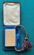 More details for antique royal presentation silver cigarette case queen victoria sampson mordan