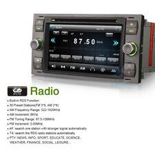 """7"""" GPS Navi DAB+Autoradio CD Bluetooth DTV2 3G DVR für Ford Fusion Galaxy Kuga I"""