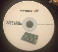 Sinclair Spectrum 48k & 128k emulator for PC with over 12000 Public Domain Games