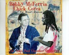 CD BOBBY McFERRIN & CHICK COREAthe mozart sessionsEX-  (A3714)