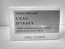 L'eau D'issey Body Cream - 7.0 oz / 200 ml Women's Body Cream New In Box