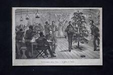 Sottocoperta della Vega - L'albero di Natale Incisione del 1882
