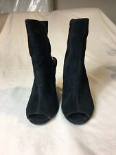 Bertie Women Black Suede Shoes Size 5 (BT84).