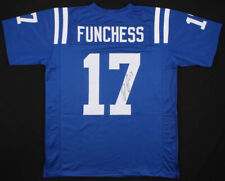 Devin Funchess Signed Indianapolis Colts Jersey (JSA COA) U of Michigan W.R.