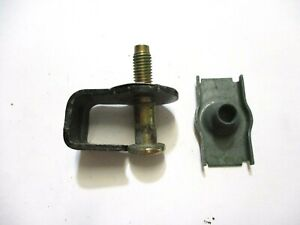 1993 Mercury Grand Marquis Door Jamb Striker with Backing Plate - RH=LH