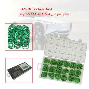 270Pcs/set 18Sizes HNBR AC A/C System O-Ring Gasket Seals Washer Rapid Repair