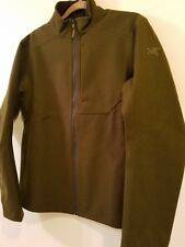 Arcteryx DIPLOMAT Wool Fleece Jacket- Men's Medium, Dark Moss, BRAND NEW-14581