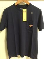 Lego Uni Qlo Boys Mens T-Shirt  Classic Space  Navy  Med M  Small S  & XS  New